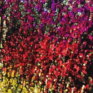 Rainbow Sequins Dress